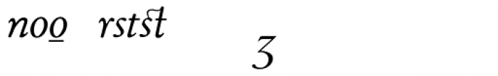 1530 Garamond Extra Italic Font UPPERCASE