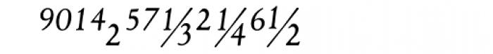 1530 Garamond Extra Italic Font LOWERCASE