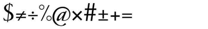 1530 Garamond Extra Font OTHER CHARS