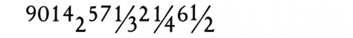 1530 Garamond Extra Font LOWERCASE