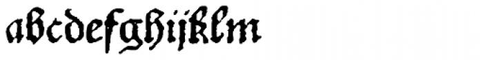 1532_Bastarde_Lyon Normal Font LOWERCASE
