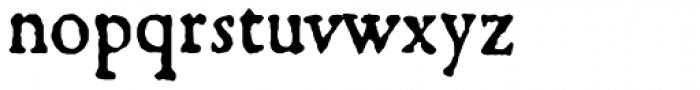 1533 GLC Augereau Pro Normal Font LOWERCASE