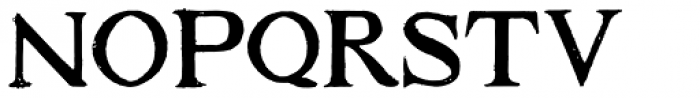 1584 Rinceau Normal Font LOWERCASE