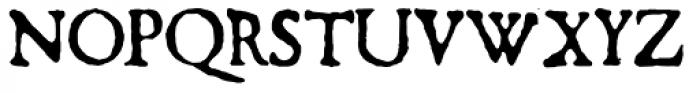 1590 Humane Warszawa Font UPPERCASE