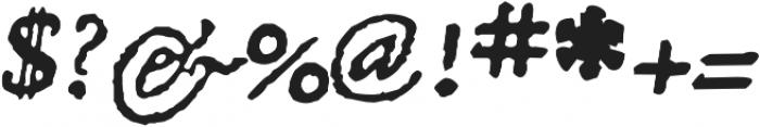 1651 Alchemy otf (400) Font OTHER CHARS