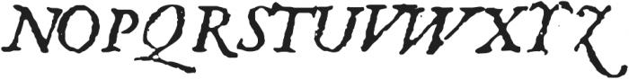 1651 Alchemy otf (400) Font UPPERCASE