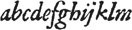 1651 Alchemy otf (400) Font LOWERCASE