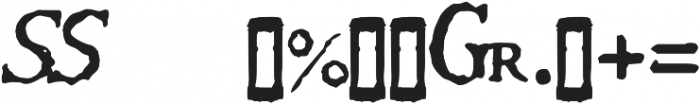 1651 Alchemy symbols otf (400) Font OTHER CHARS