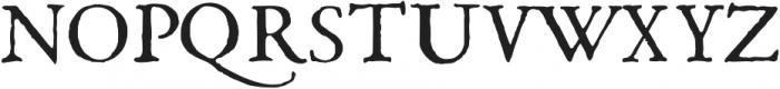 1669 Elzevir otf (400) Font UPPERCASE