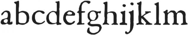 1669 Elzevir otf (400) Font LOWERCASE