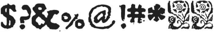 1689 Almanach otf (400) Font OTHER CHARS