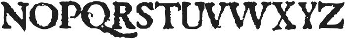 1689 Almanach otf (400) Font UPPERCASE