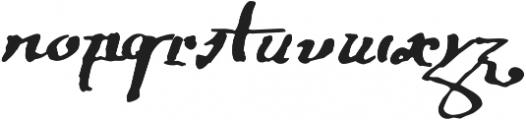 1695 Captain Flint Ru otf (400) Font LOWERCASE