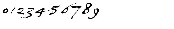 1634 Rene Descartes Normal Font OTHER CHARS