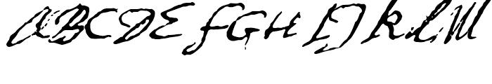 1634 Rene Descartes Normal Font UPPERCASE