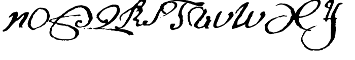 1695 Captain Flint Regular Font UPPERCASE