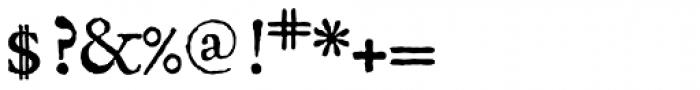 1689 GLC Garamond Pro Normal Font OTHER CHARS