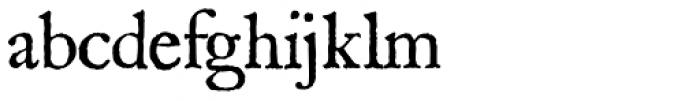 1689 GLC Garamond Pro Normal Font LOWERCASE