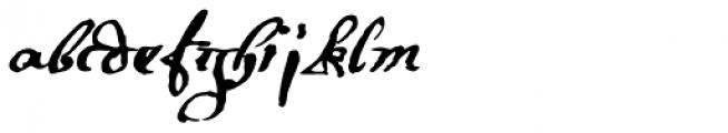 1695 Captain Flint Font LOWERCASE
