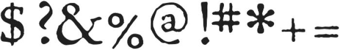 1726 Real Espanola otf (400) Font OTHER CHARS