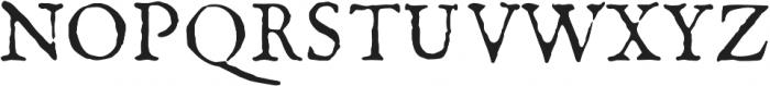 1726 Real Espanola otf (400) Font UPPERCASE