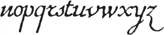 1741 Financiere otf (400) Font LOWERCASE