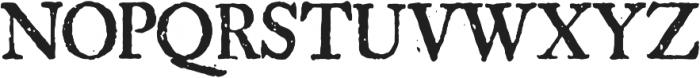 1756 Dutch Supplement otf (400) Font UPPERCASE