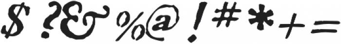1756 Dutch otf (400) Font OTHER CHARS