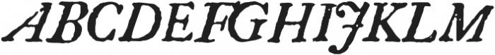1756 Dutch otf (400) Font UPPERCASE