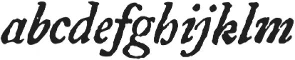 1756 Dutch otf (400) Font LOWERCASE