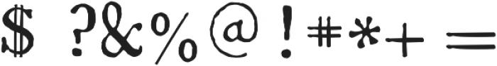 1785 GLC Baskerville otf (400) Font OTHER CHARS