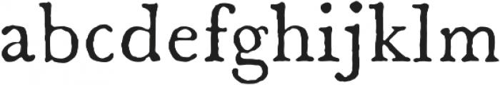 1785 GLC Baskerville otf (400) Font LOWERCASE