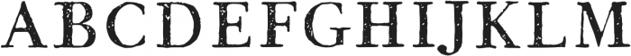 1786 GLC Fournier Caps otf (400) Font UPPERCASE