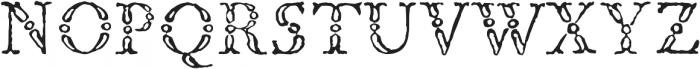1786 GLC Fournier Titling otf (400) Font UPPERCASE