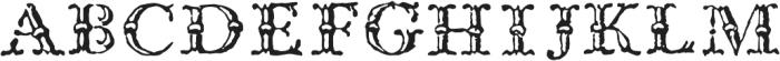1786 GLC Fournier Titling otf (400) Font LOWERCASE