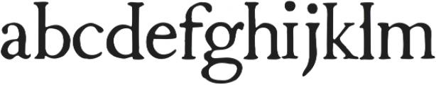 1790 Royal Printing Normal otf (400) Font LOWERCASE