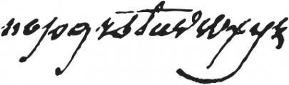 1792 La Marseillaise otf (400) Font LOWERCASE
