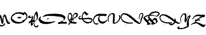 1742Frenchcivilite Font UPPERCASE