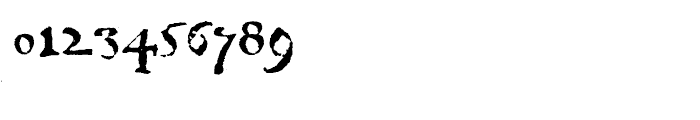 1742 Civilite Regular Font OTHER CHARS