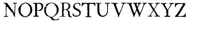 1786 GLC Fournier Normal Font UPPERCASE