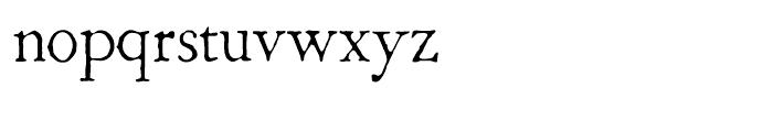 1786 GLC Fournier Normal Font LOWERCASE