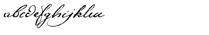 1791 Constitution Regular Font LOWERCASE