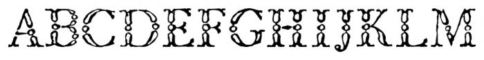 1786 GLC Fournier  Titling Font UPPERCASE