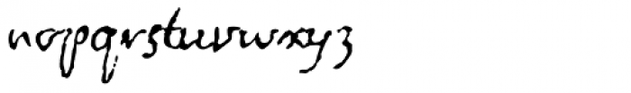 1715 Jonathan Swift Font LOWERCASE