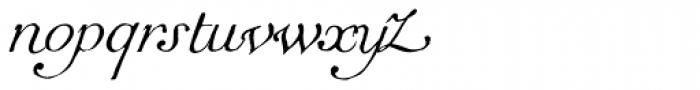 1751 GLC Copperplate Italic Font LOWERCASE