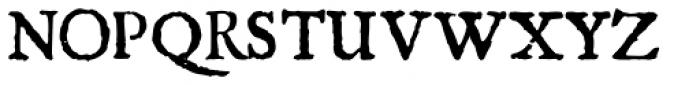 1756 Dutch Normal Font UPPERCASE
