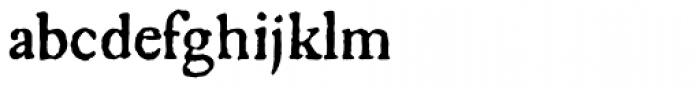 1756 Dutch Normal Font LOWERCASE