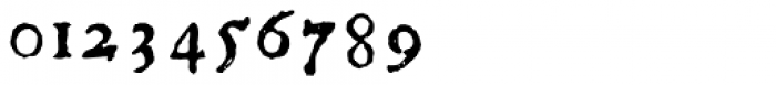 1756 Dutch Supplement Font OTHER CHARS