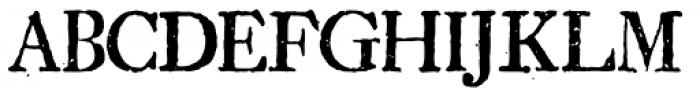 1756 Dutch Supplement Font UPPERCASE