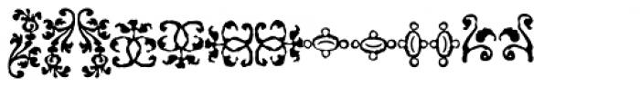 1756 Dutch Supplement Font LOWERCASE